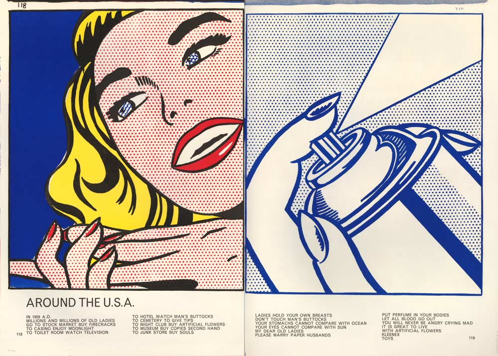 <p>Roy Lichtenstein,&nbsp;<em>Girl/Spray Can from Walasse Ting. 1 ¢ Life</em>, 1963 © The Trustees of the British Museum<br /> © Estate of Roy Lichtenstein / All rights reserved / VEGAP, 2020</p> - El sueño americano. Del pop a la actualidad - CaixaForum Madrid