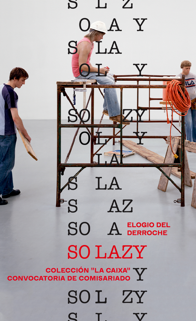 So lazy. Elogio del derroche