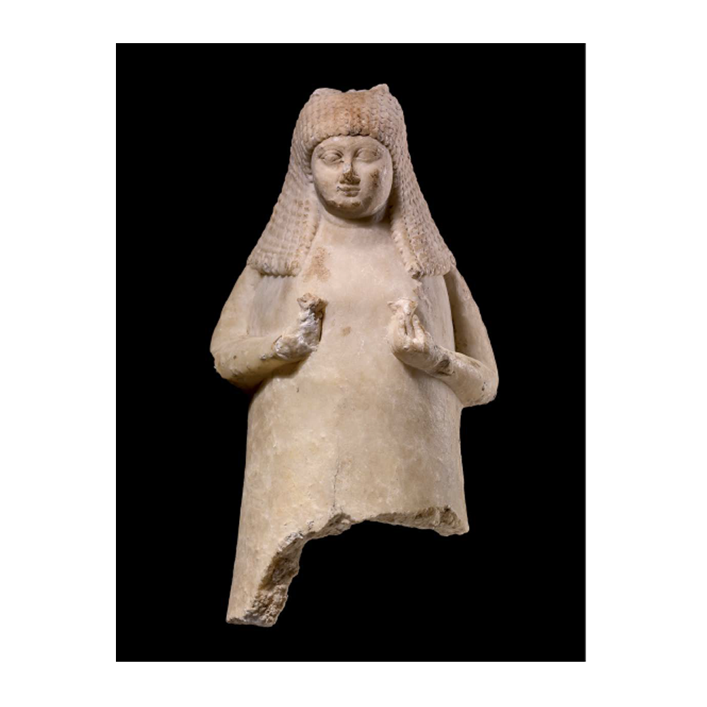 <p>Vas en forma de dona. Sípppar (Iraq). 700-600 aC. Calcita © The trustees of the British Museum</p> - Luxe. Dels assiris a Alexandre el Gran - CaixaForum Barcelona